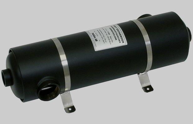 Теплообменник для подогрева воды