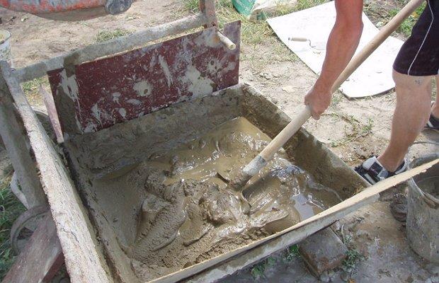 Глина с песком