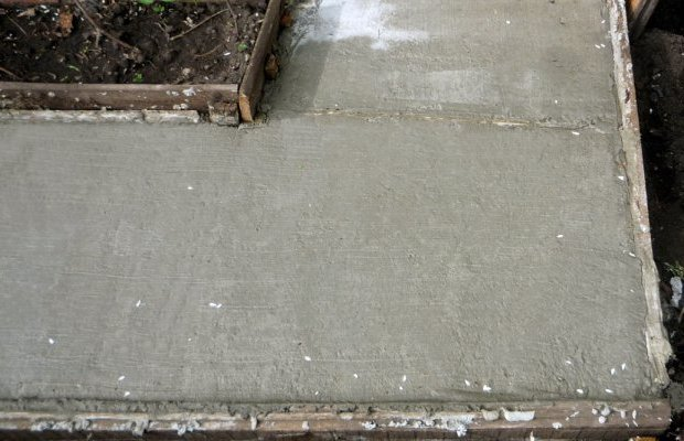 Заливание бетона