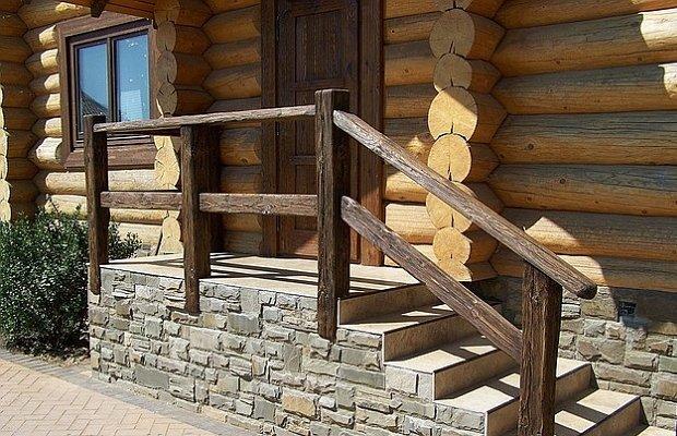 Деревянные перила для крыльца своими руками фото