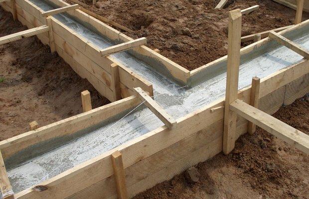 Конструктивный формообразующий элемент для застывания бетона