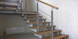 Лестница на металлическом каркасе – делаем самостоятельно без особых проблем!