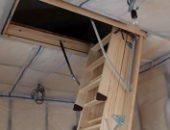 Фото - Чердачная лестница с люком своими руками – как ее проще сделать
