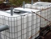 Фото - Септик из еврокубов своими руками – эффективная канализация для загородного дома