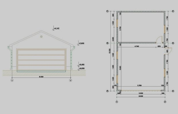 Разработка проекта постройки гаража