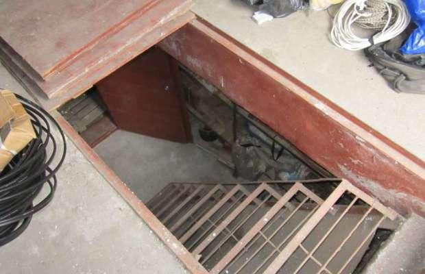 Заглубленный подвал