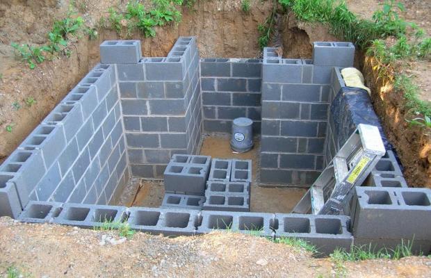 Монтаж кирпичных стен