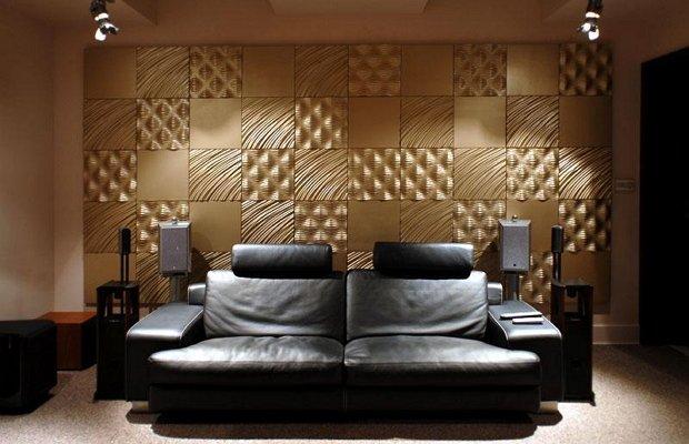 Из чего изготавливаются стеновые 3D панели
