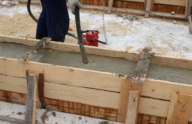 Финал работ – строим ленточный фундамент