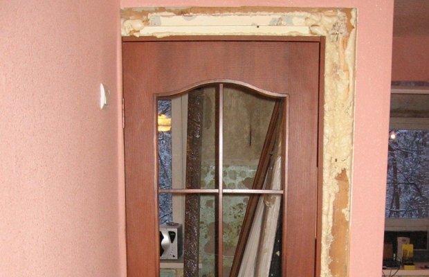 Установка дверей своими руками – оценим фронт предстоящих работ фото