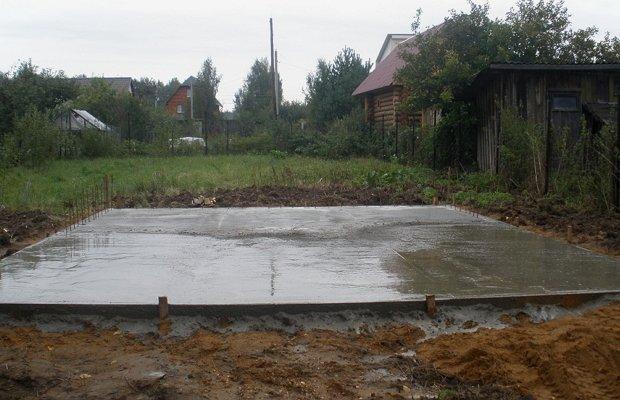 Фундамент под гараж – инструкция для самостоятельной заливки