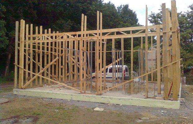 Делаем каркас постройки – все тонкости процесса