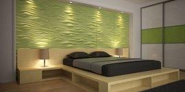 3D панели на стену – оригинальное решение для отделки помещений