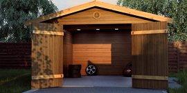 Каркасный гараж своими руками – сделаем и обустроим в короткий срок!