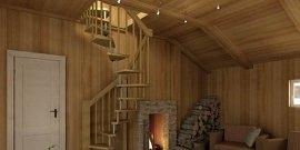Винтовая лестница на второй этаж – как сделать самостоятельно?
