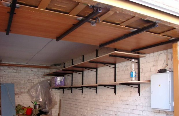 Полки для гаража – выбираем и устанавливаем