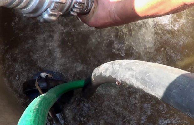 Использование насосов – методика прочистки «для ленивых»