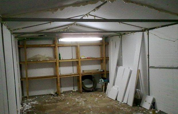 Стеллаж – обязателен для гаража!