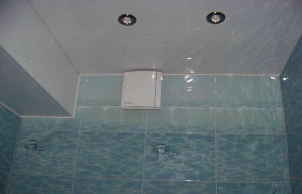 Натяжные потолки в ванной комнате – больше не нужно бояться воды