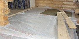 Пароизоляция пола в деревянном доме – как защититься от влаги?
