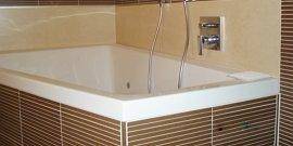 Фото - Стеновые панели для ванной – особенности материала и способ крепления