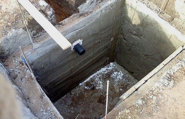 Выбираем место и рассчитываем размеры выгребной ямы