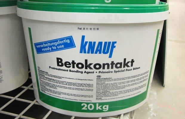 Когда используется грунтовочный состав Knauf?