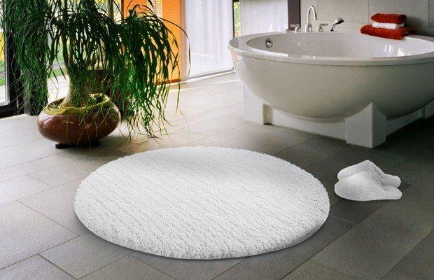 Разновидности ковриков для ванной комнаты – есть из чего выбрать