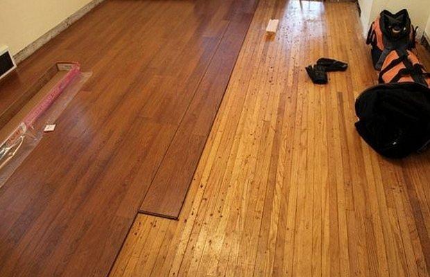 Основа из древесины под ламинат – важнейшие особенности