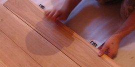 Ламинат на деревянный пол – монтаж возможен!