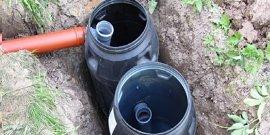 Септик своими руками из бочек – недорогая канализация для загородного жилища
