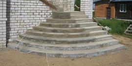 Входная лестница в дом – инструкция по самостоятельному строительству
