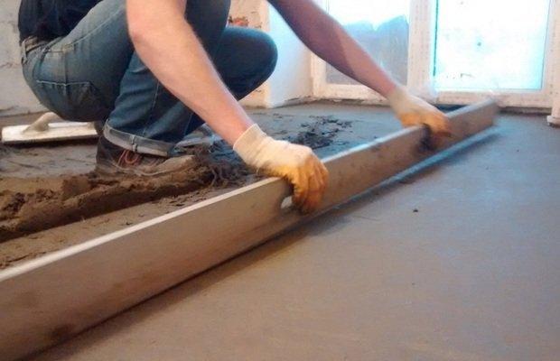 Монтаж новой стяжки и гидроизоляция пола своими руками