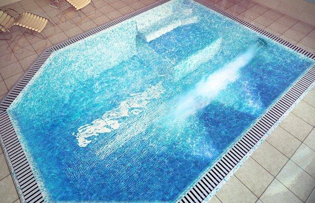Необычные формы бассейнов – основа дизайна