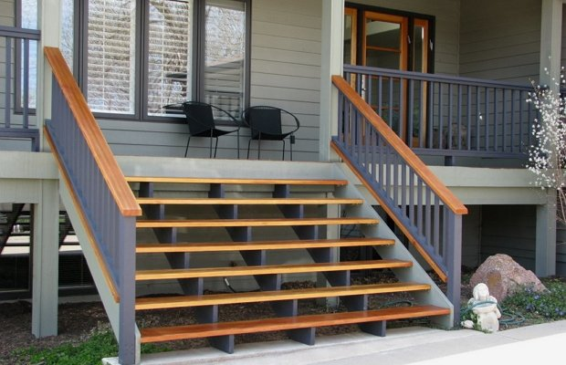 Выбор лестничных конструкций для наружных помещений