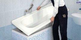 Акриловый вкладыш в ванну своими руками – реставрируем изделие без труда