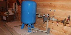 Гидроаккумулятор для систем водоснабжения – особенности устройства и принцип действия