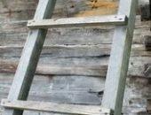 Фото - Приставная лестница из дерева – как сделать самостоятельно?