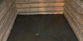 Как сделать бетонный пол в бане – получим по-настоящему теплое основание!
