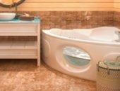 Фото - Ванная комната в деревянном доме – строим и защищаем от влаги самостоятельно!