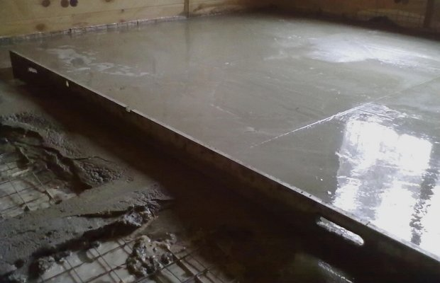 Напольное основание из бетона – служит десятилетиями!