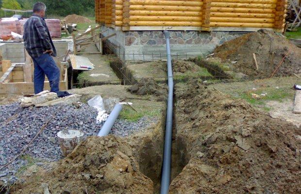 Система отвода воды – должна быть обязательно!