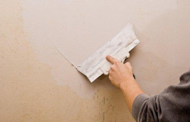 Вариант без удаления обоев со стены – используем полотна, как основание