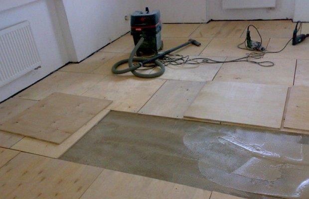 Инструкция по укладке фанеры на деревянный пол