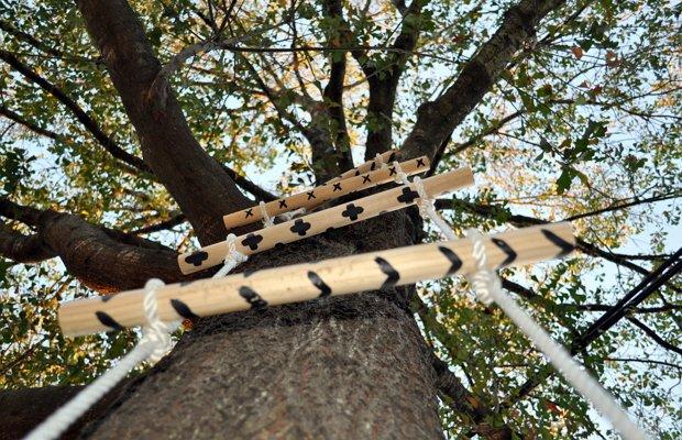 Лестница из веревки – зачем нужна в быту и какой должна быть?