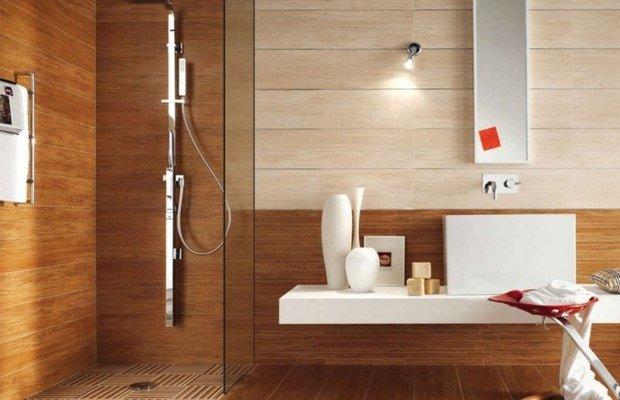 Годится ли для ванной материал на основе древесины?