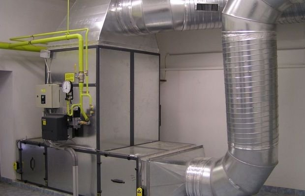 Особенности и достоинства воздушного отопления