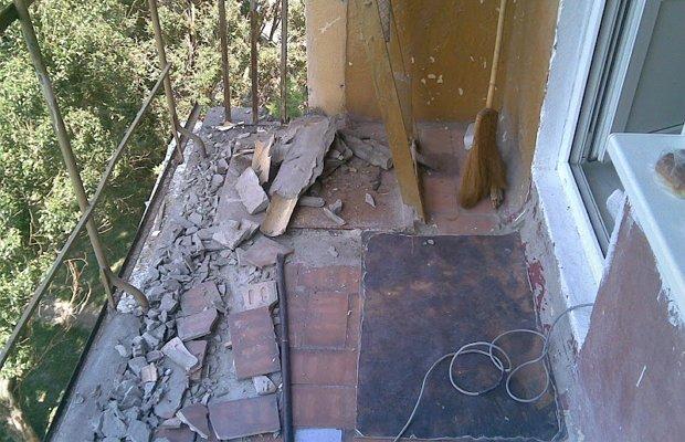 Мокрая бетонная стяжка – подготовьте лоджию к выравниванию