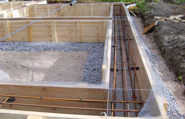 Ленточный фундамент – простой в строительстве и надежный