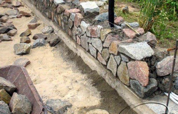 Схемы укладки камней – выберите подходящий вариант